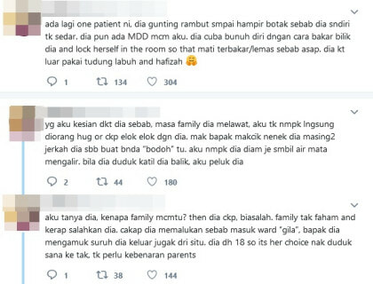 Clouded By Suicidal Thoughts, Netizen Shares Her Experience In A Psychiatric Ward - WORLD OF BUZZ 4