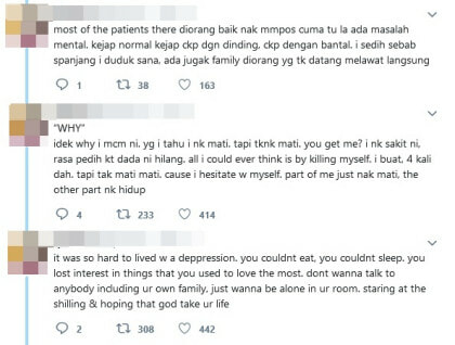 Clouded By Suicidal Thoughts, Netizen Shares Her Experience In A Psychiatric Ward - WORLD OF BUZZ 5