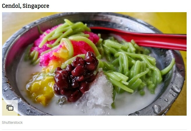 CNN Lists Cendol in World's Best Desserts But Says It's From Singapore - WORLD OF BUZZ