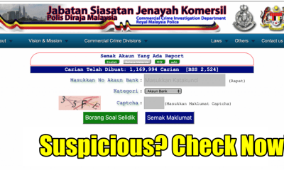 Did You Know You Can Now Check If An Online Seller Is A Scammer With This PDRM Portal? - WORLD OF BUZZ