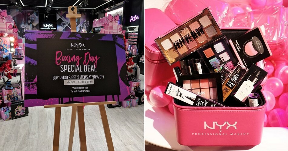 You Can Enjoy 50% Off For 5 Items in NYX If You Spend RM30 on Any of Their Products - WORLD OF BUZZ