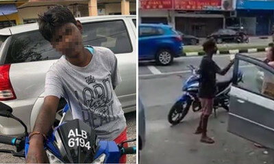 Road Scammer Fakes Accident, Threatens to Call Her 'Gang' If Victims Refuse to Pay RM300 - WORLD OF BUZZ