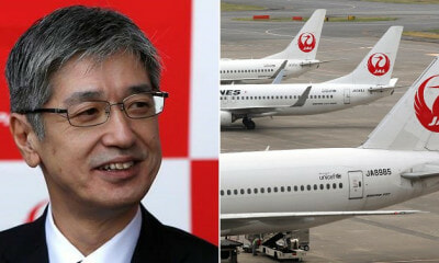 Japan Airlines' President & Top Execs Take 20% Pay Cut To Apologise For Drunk Pilot Incident - WORLD OF BUZZ 2