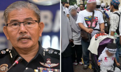 KL Police Chief: Anti-ICERD Participants Who Brought Children to Rally Could Be Fined Up to RM20,000 - WORLD OF BUZZ 2