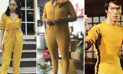 Lady Turns Into 'Bruce Lee' After Putting On Jumpsuit She Bought Online - WORLD OF BUZZ