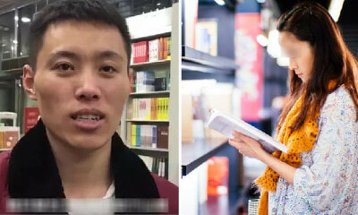 Man Falls In Love At First Sight With Girl at Bookshop, Resigns from Job to Spend Over 50 Days Stalking Her - WORLD OF BUZZ 4