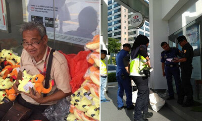 MBPJ Has Confiscated Soft Toy Uncle's Entire Stock & He Needs Your Help - WORLD OF BUZZ