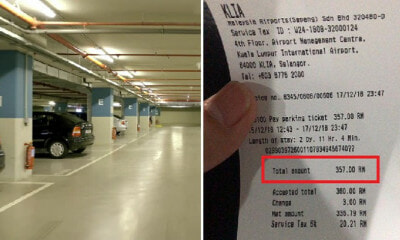 M'sian DJ Paid RM357 Parking Fee Because He Accidentally Chose Wrong Spot in KLIA - WORLD OF BUZZ 2