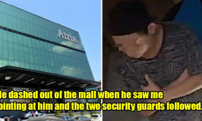 M'sian Encounters Stalker Lurking Suspiciously in PJ Mall, Turns Out He's A Repeat Offender - WORLD OF BUZZ 5