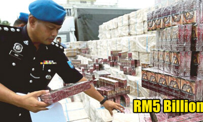 M'sian Government Shockingly Loses RM5 Billion Every Year Due to Contraband Cigarettes - WORLD OF BUZZ