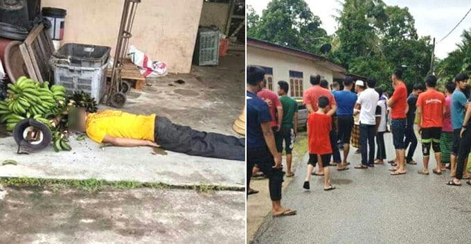 M'sian Man Gets Brutally Beaten To Death After Allegedly Stealing Bananas - WORLD OF BUZZ