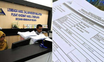 M'sians Who Don't Declare Income Tax by July 2019 Will Face Penalty Up to 300% - WORLD OF BUZZ