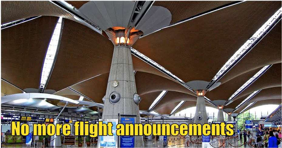 No More Public Announcements In KLIA and KLIA2 Starting December - WORLD OF BUZZ 1