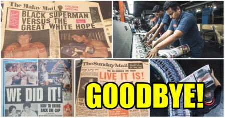 Out Of Print: Oldest Malaysian Newspaper Malay Mail Bids Farewell After 122 Years - WORLD OF BUZZ 2