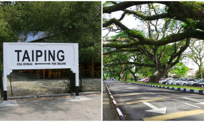 Taiping Named In 100 Most Sustainable Tourist Destination - WORLD OF BUZZ