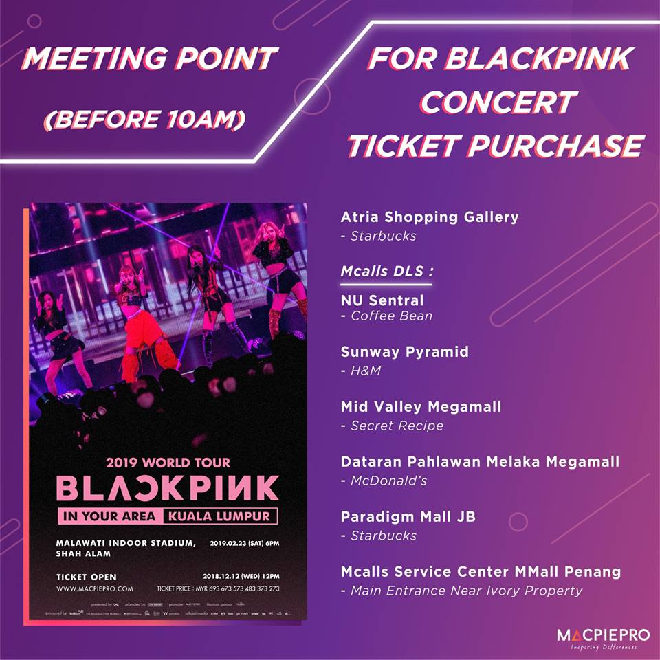 People Are Reselling K-pop Band BLACKPINK's KL Concert Tickets For Up to RM7,300! - WORLD OF BUZZ