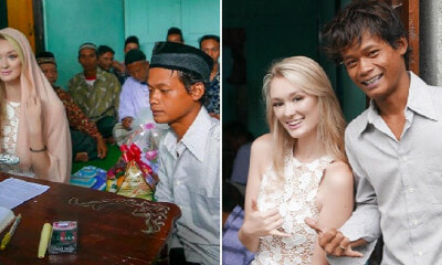 Photos of Indon Man Marrying English Girl Goes Viral as Netizens Congratulate The Couple - WORLD OF BUZZ 9