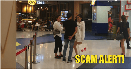 "Scam Alert: Mall ""Tourists"" Preying On Malaysians' Kind-heartedness - WORLD OF BUZZ 6"