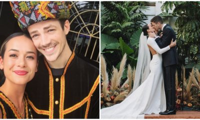 'The Flash' Actor Grant Gustin and Sabahan Girlfriend is Officially Off the Market! - WORLD OF BUZZ 1