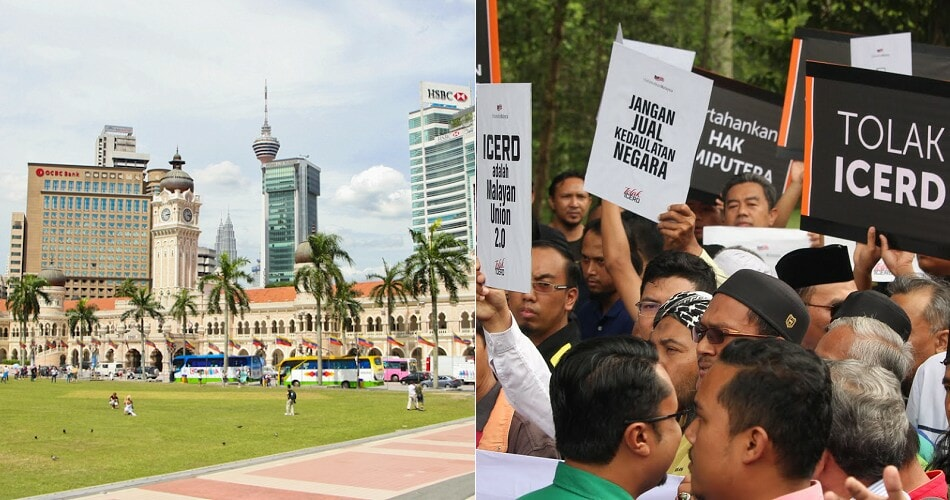 These 6 Roads in KL Will Be Closed on 8 Dec Due to Anti-ICERD Rally - WORLD OF BUZZ 1
