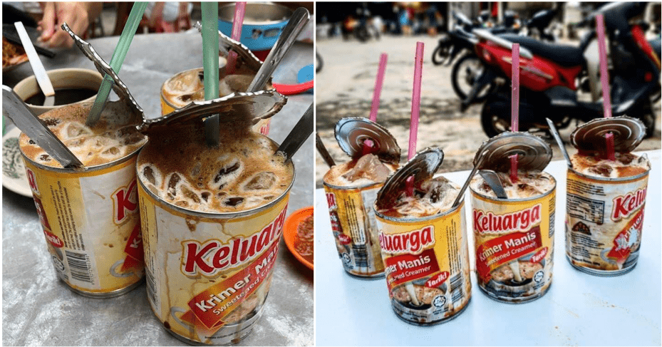 This Shop Serves Their Kopi Peng Special In Condensed Milk Cans - WORLD OF BUZZ 5
