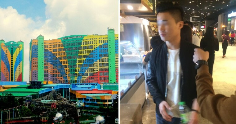 """Tourist"" Scammers Spotted in Genting Highlands Targeting People Who Are Alone - WORLD OF BUZZ 4"