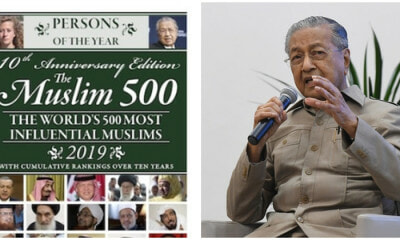 Tun M Named Muslim Man Of The Year In List Of 500 Most Influential Muslim Leaders - WORLD OF BUZZ