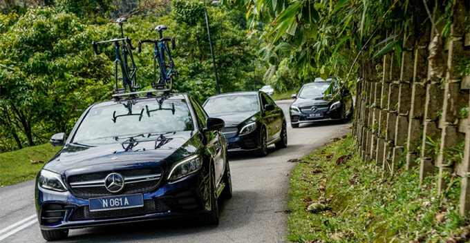 We Took 3 New Mercedez-Benz C-Class Models for a Spin in Camerons & Here's How it Went - WORLD OF BUZZ
