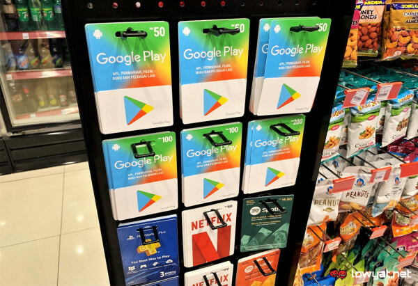 You Can Now Buy Google Play Gift Cards in 7-11 yaww - WORLD OF BUZZ