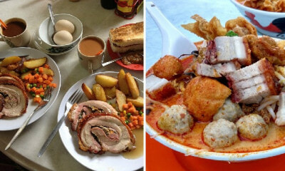 10 Restaurants in Klang Valley Serving Yummy Old-School Breakfast Full of Porky Goodness - WORLD OF BUZZ