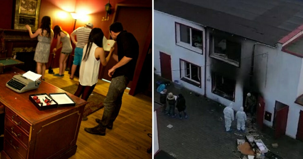 5 Teens Tragically Die in Fire While Trapped in Escape Room With No Emergency Exit - WORLD OF BUZZ
