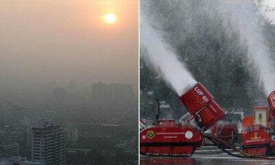 Bangkok On Red Alert After Haze Covers The City With Fine Particles That Can Get Into Lungs - WORLD OF BUZZ