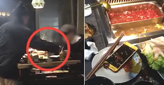 BF Keeps Playing With Phone While On A Date, GF Dumps It In Steamboat And Storms Off - WORLD OF BUZZ