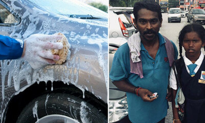 Customer Promises to Pay RM1 for This Man's Car Wash Services but Ditches Him After He Was Done Cleaning - WORLD OF BUZZ