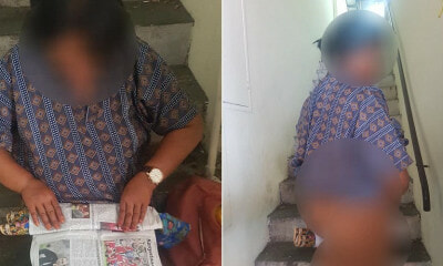 M'sian Homeless Lady Forced to Use Sarong & Newspapers As Pad During Her Menstruation - WORLD OF BUZZ