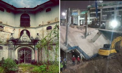 Ground Collapses At BBCC, Netizens Claim Haunted Ground Of Former Pudu Jail To Blame - WORLD OF BUZZ 2