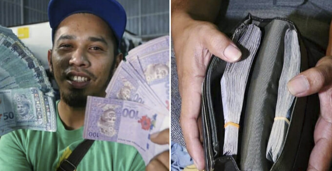 Lucky M'sian Man Finds Rm20,000 In Used Clothes, Mufti Urges Him To Hand Over To Baitumal - World Of Buzz
