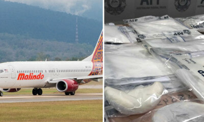 Malindo Air Cabin Crew Arrested For Attempting to Smuggle Drugs From Malaysia into Australia - WORLD OF BUZZ