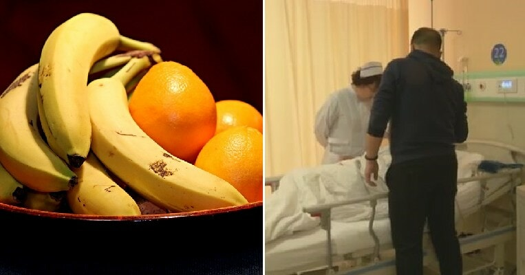 Man Suffers Sudden Paralysis After He Consumed 2.5kg of Bananas & 3kg of Oranges in a Week - WORLD OF BUZZ 3