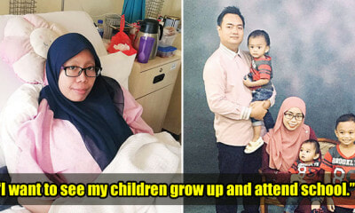 M'sian Mother Needs Our Help As She's Diagnosed With Cancer Shortly After Giving Birth - WORLD OF BUZZ