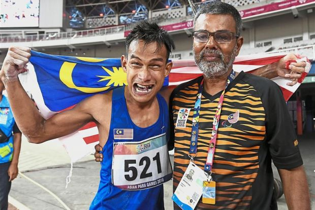 Msian Para Icon Ridzuan Puzi To Be Name Asian Male Para Athlete 2018 - WORLD OF BUZZ 1