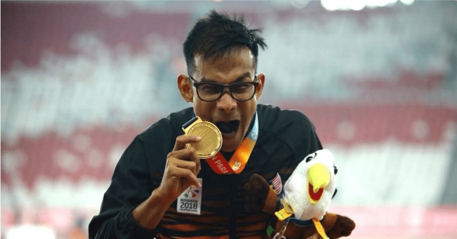 Msian Para Icon Ridzuan Puzi To Be Name Asian Male Para Athlete 2018 - WORLD OF BUZZ 3