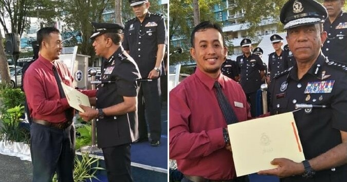 M'sian Receives Recognition From PDRM For Fighting Off 3 Robbers Who Broke Into His House - WORLD OF BUZZ 3