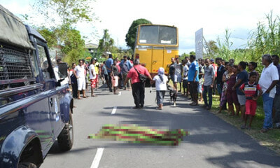 M'sian Student Standing On School Bus Steps Falls And Shockingly Gets Run Over - WORLD OF BUZZ