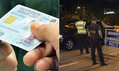 PDRM: No One is Allowed to Keep or Hold Your IC Except For These Five Officers - WORLD OF BUZZ