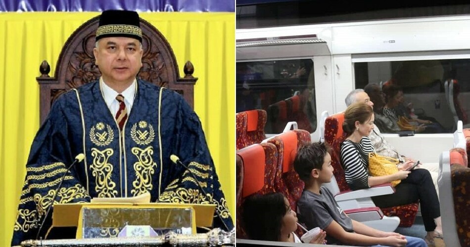 Picture of Sultan Nazrin & Family Using ETS Goes Viral, Netizens Praises Them For Their Humility - WORLD OF BUZZ