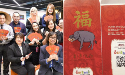 Sarawak Tourism Celebrates CNY By Promoting State's Iconic Animal, Bearded Pig On Angpows - WORLD OF BUZZ