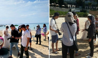 "Seven ""Tourists"" Taking Pre-Wedding Photo Shoot In Phuket Arrested for Violating Visas - WORLD OF BUZZ 5"