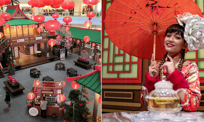 Shoppers Can Spend Their CNY in a Chinese Tea House, Here's What You NEED to Know - WORLD OF BUZZ