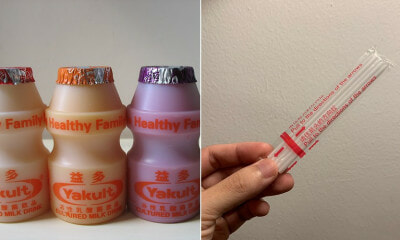 S'poreans Are Selling Yakult Straws as Vintage Collectibles on Carousell For Up to RM3,000 - WORLD OF BUZZ